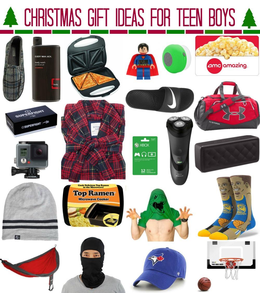 Teen Boys Gift Ideas  Christmas Gift Ideas for Teen Boys whatever