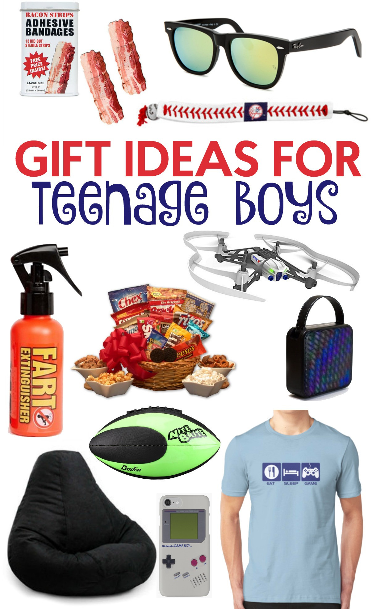 Teen Boys Gift Ideas  The Perfect Gift Ideas For Teen Boys A Little Craft In