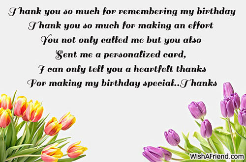 Thank You So Much For The Birthday Wishes  Thank You For The Birthday Wishes Page 5