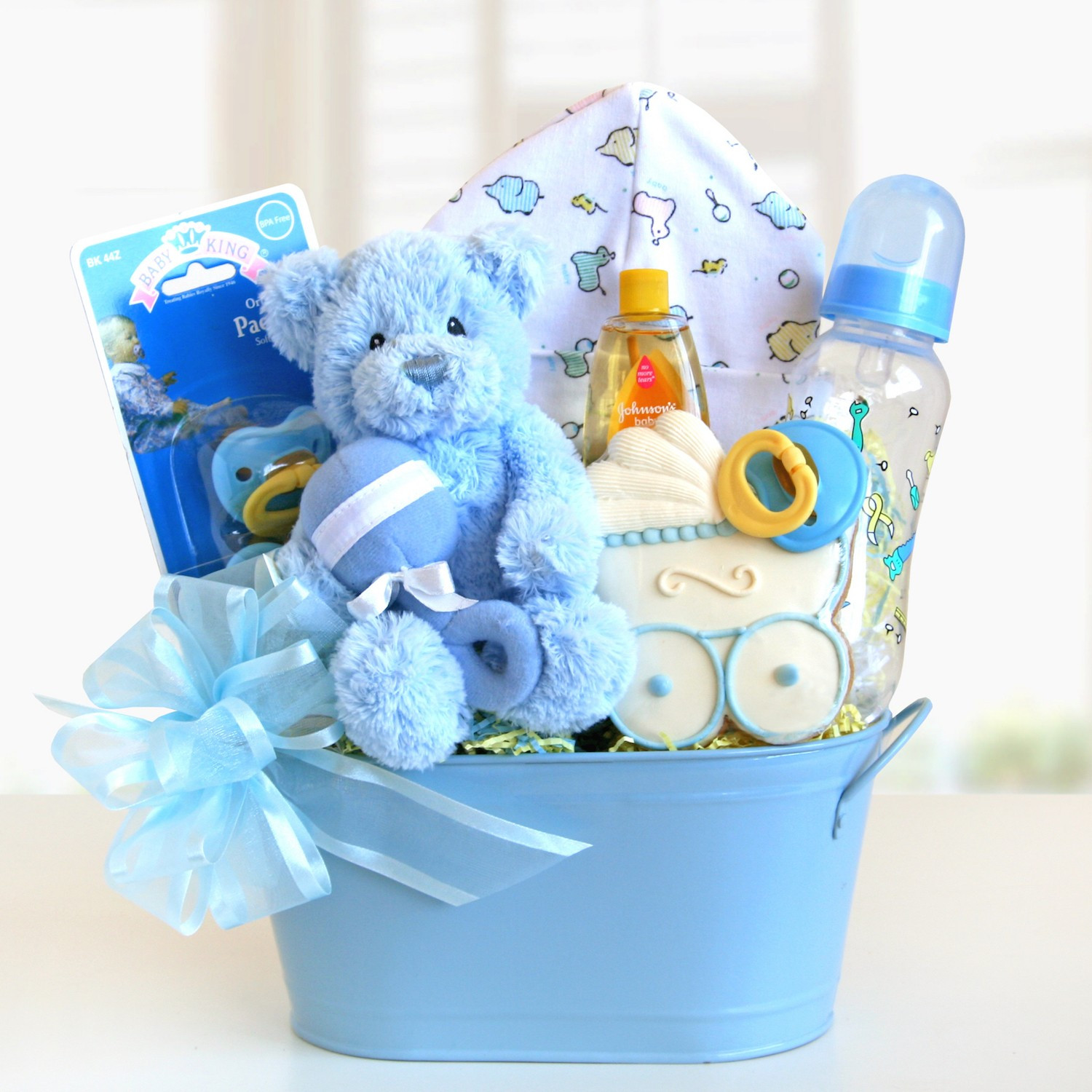 Toddler Gift Ideas For Boys  Sweet and Cuddly Baby Boy Gift Basket Gift Baskets Plus