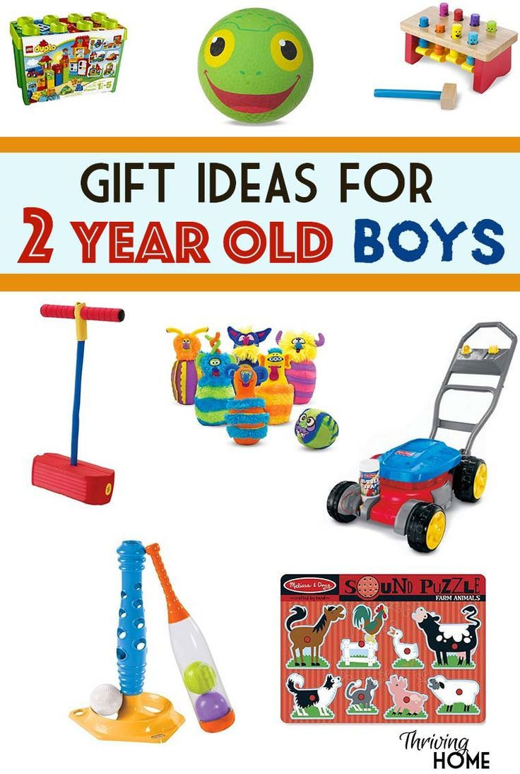 Toddler Gift Ideas For Boys  Gift Ideas for a Two Year Old Boy Thriving Home