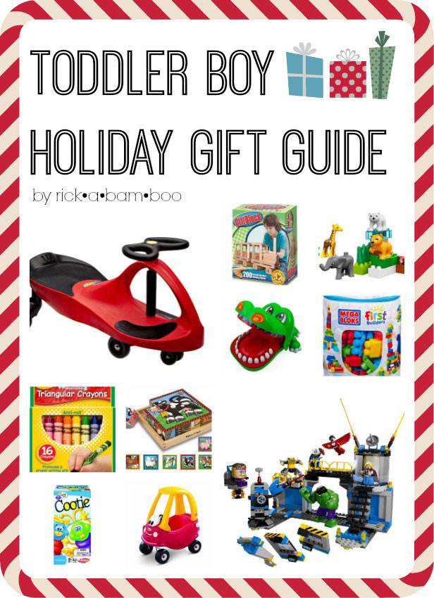 Toddler Gift Ideas For Boys  Toddler Boy Holiday Gift Guide 2014