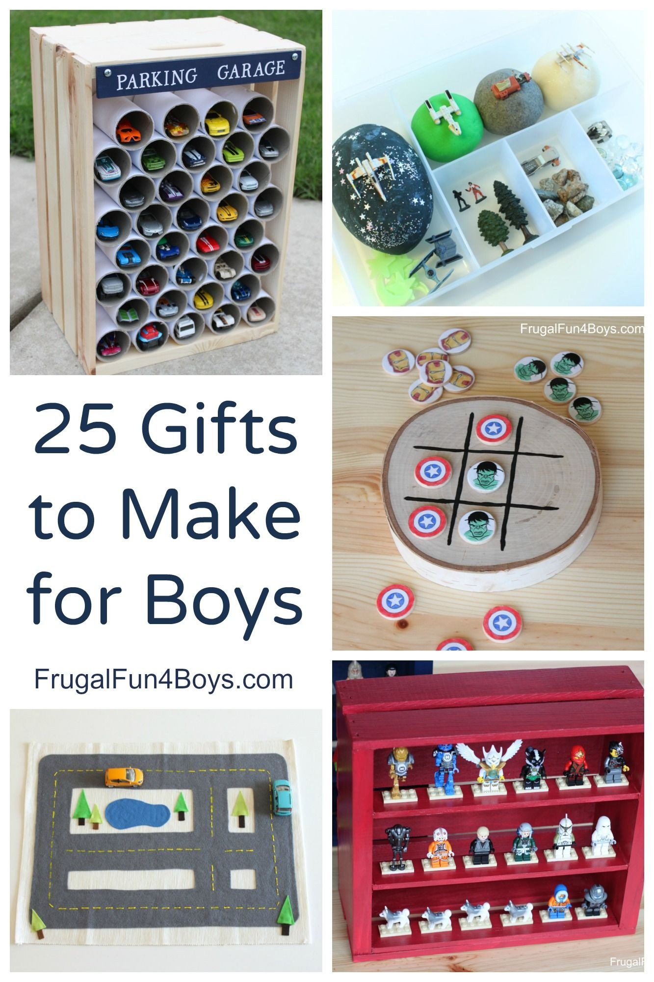 Toddler Gift Ideas For Boys  25 More Homemade Gifts to Make for Boys