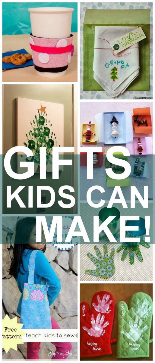 Toddler Made Christmas Gifts  25 Christmas Gifts Kids Can Make