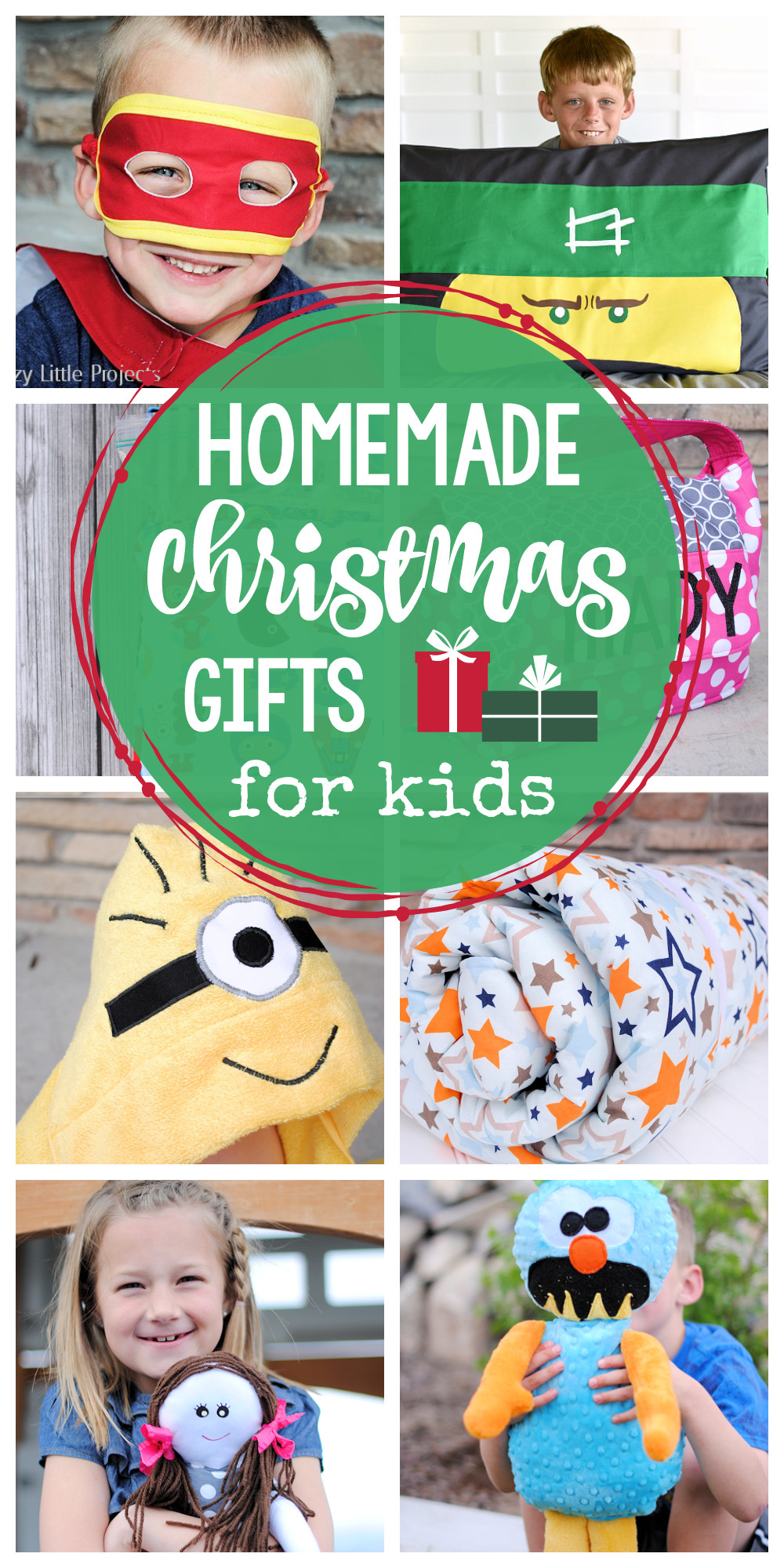 Toddler Made Christmas Gifts  25 Homemade Christmas Gifts for Kids Crazy Little Projects
