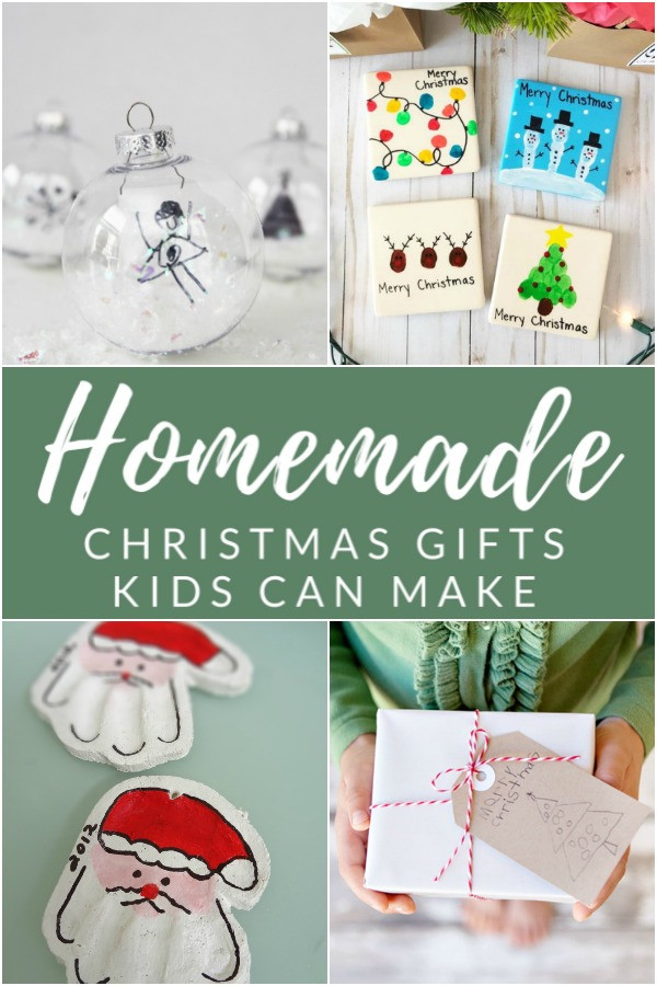 Toddler Made Christmas Gifts  12 Sentimental Homemade Christmas Gifts from Kids The