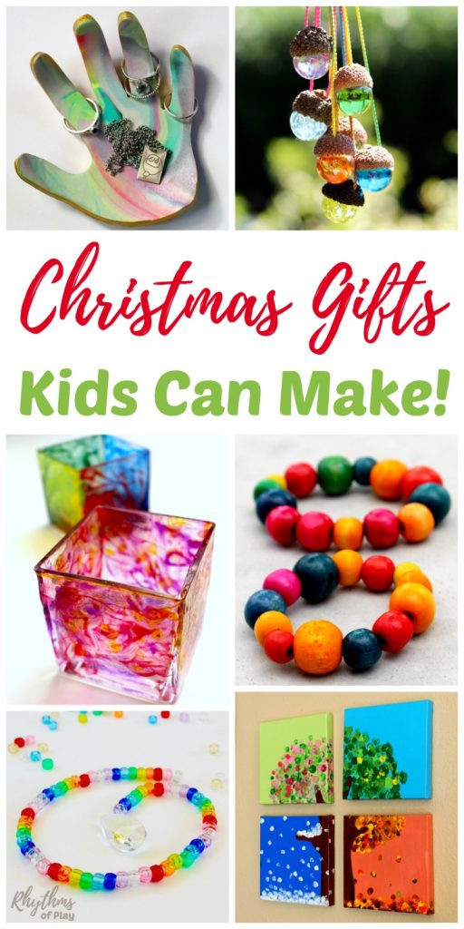 Toddler Made Christmas Gifts  Christmas Gifts Kids Can Make Your Family Will Love