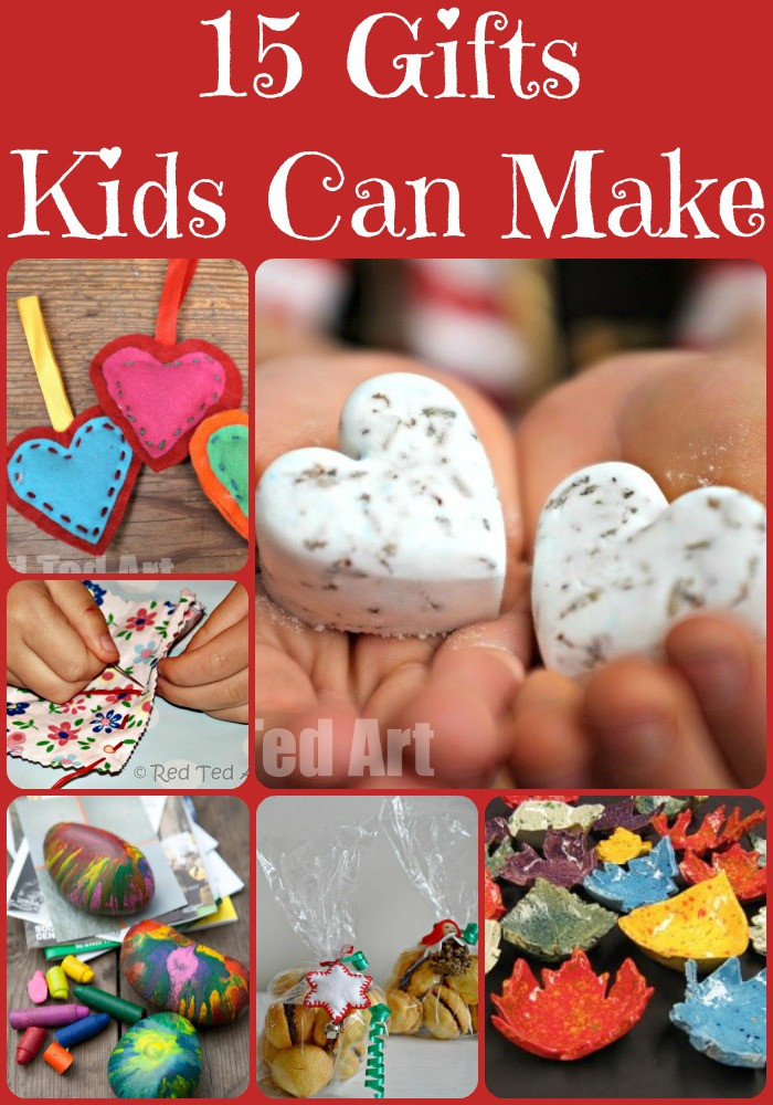 Toddler Made Christmas Gifts  Christmas Gift Ideas for Kids To Make Red Ted Art s Blog