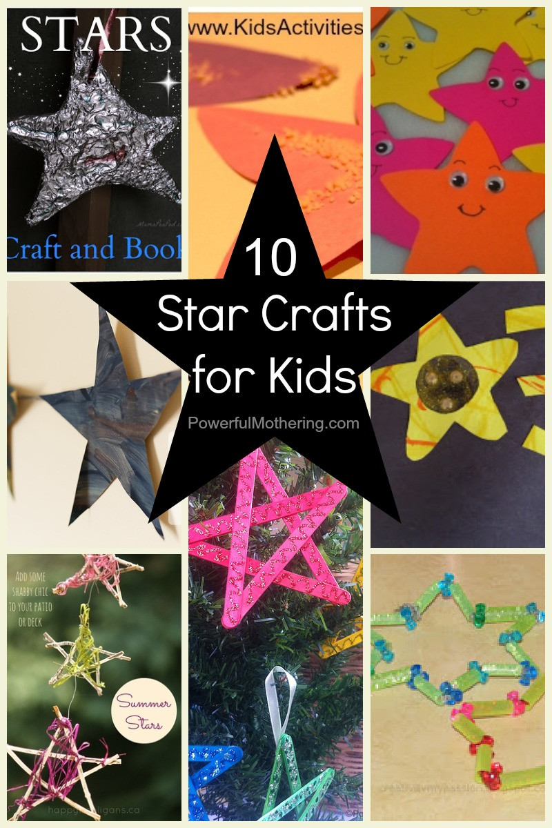 Toddlers Craft Projects  10 Star Crafts for Kids