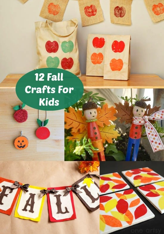 Toddlers Craft Projects  12 Fun Fall Crafts For Kids diycandy