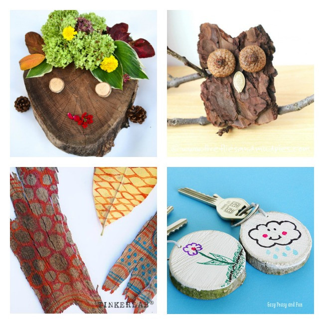 Toddlers Craft Projects  50 Nature Crafts for Kids