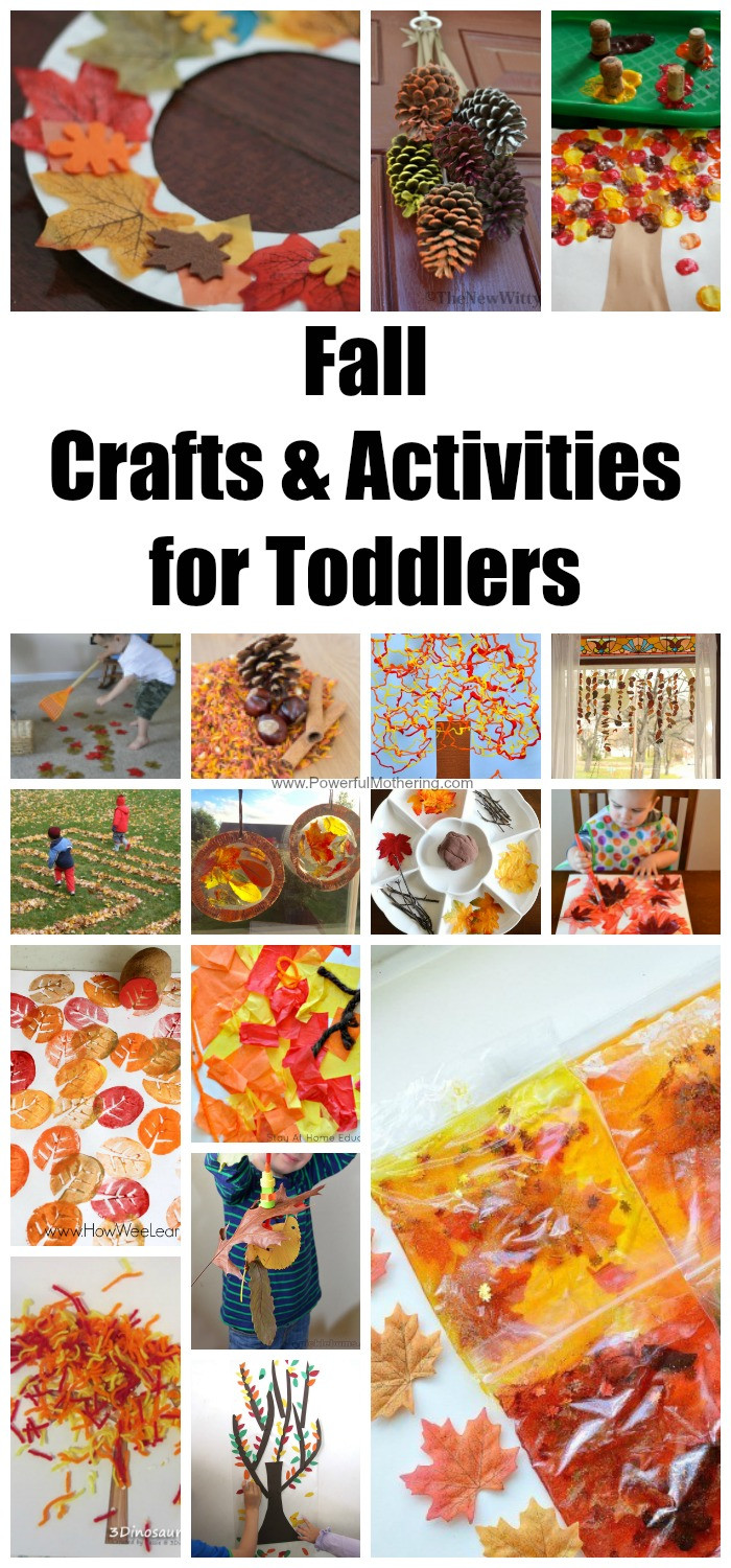 Toddlers Craft Projects  Fall Crafts & Activities for Toddlers