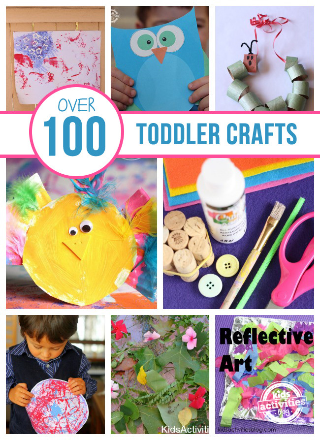 Toddlers Craft Projects  Over 100 Toddler Crafts