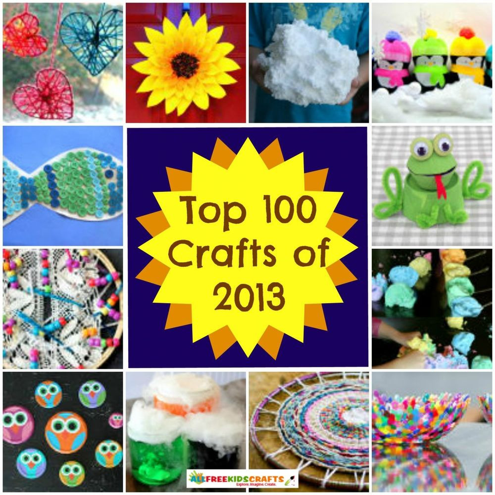 Toddlers Craft Projects  100 Craft Ideas for Kids Art Project Ideas Recycled