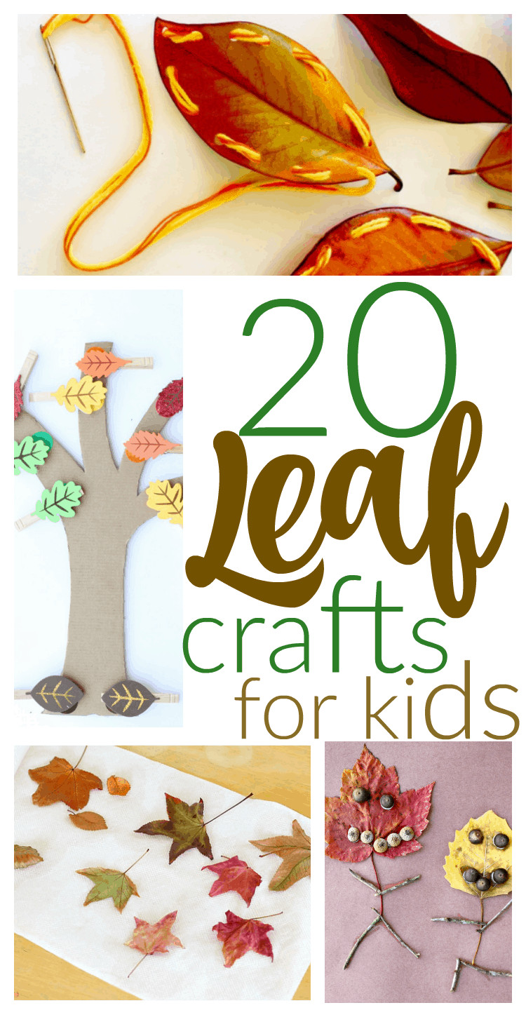 Toddlers Craft Projects  20 Fun Fall Kids Crafts With Leaves I Can Teach My Child