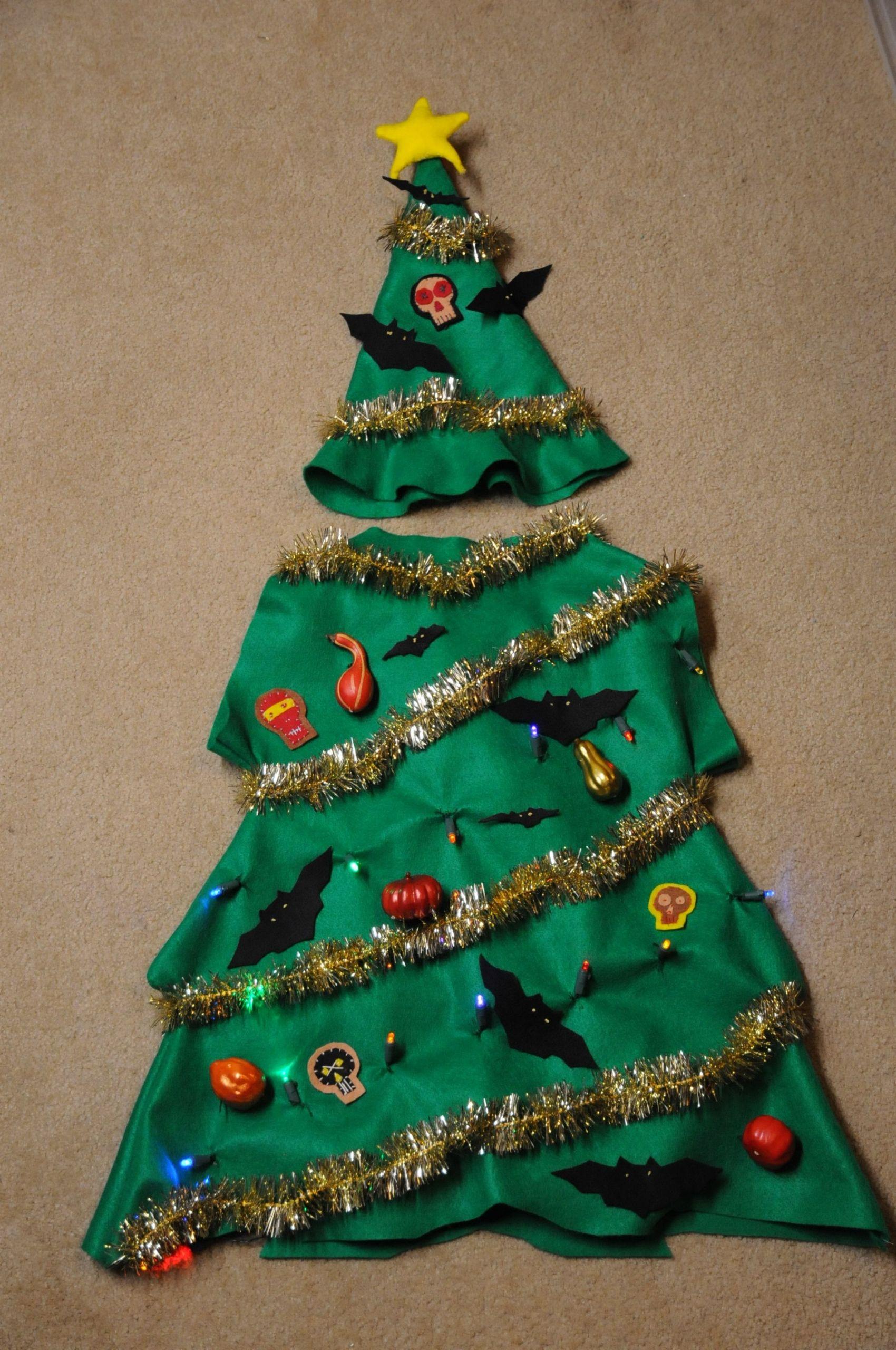 Tree Costumes DIY  Christmas Tree Costume
