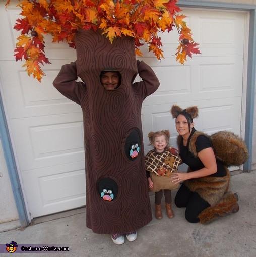 Tree Costumes DIY  DIY Tree Costume 3 3