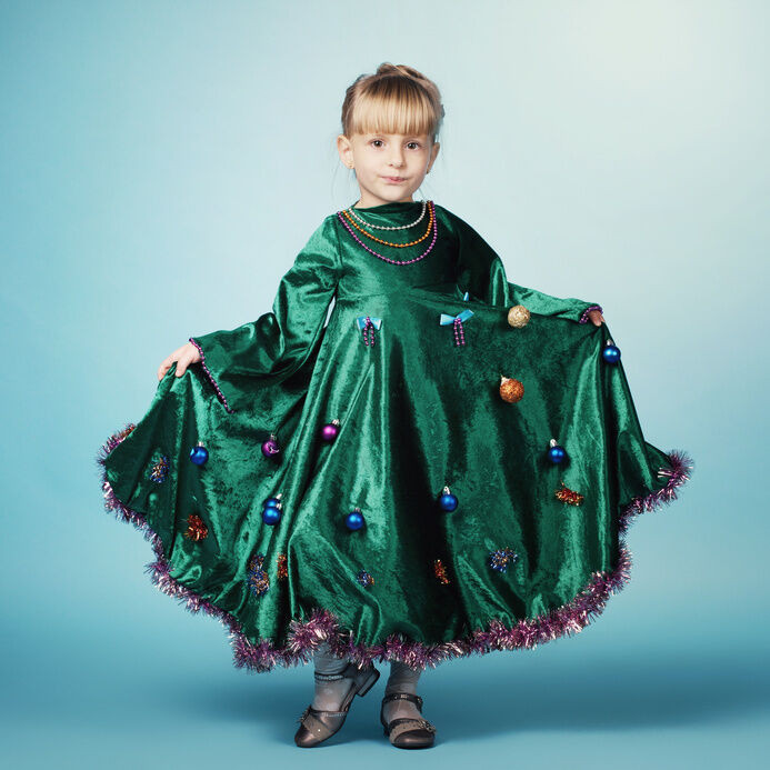 Tree Costumes DIY  DIY Christmas Tree Costume