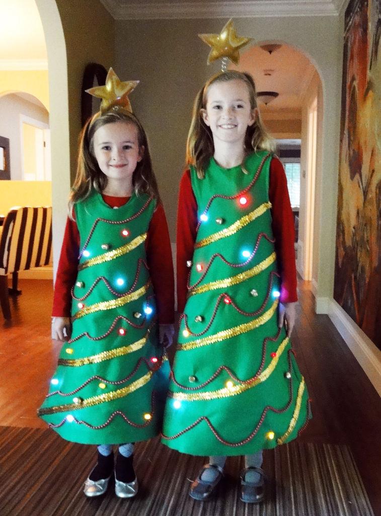 Tree Costumes DIY  Christmas Tree Costumes