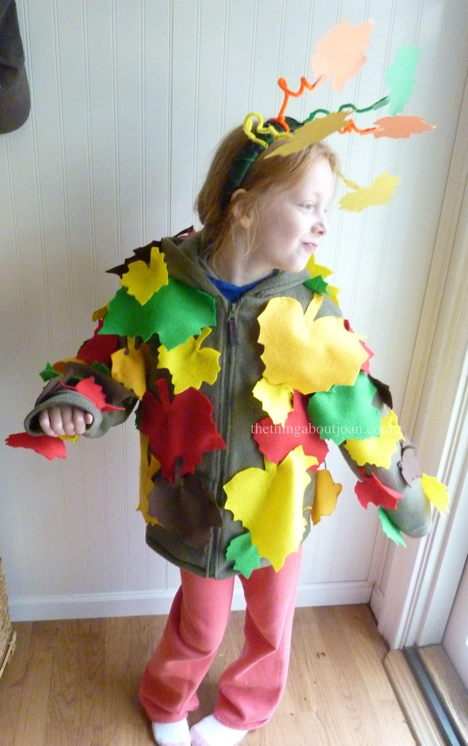 Tree Costumes DIY  Make like a tree E's DIY tree costume