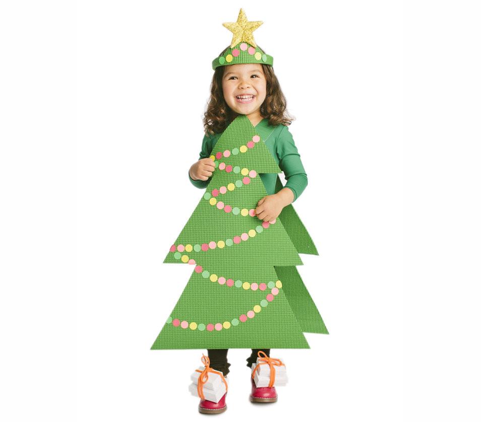 Tree Costumes DIY  The Costume Christmas Tree