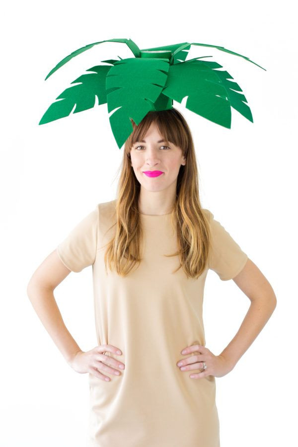 Tree Costumes DIY  DIY Palm Tree Costume Recipe