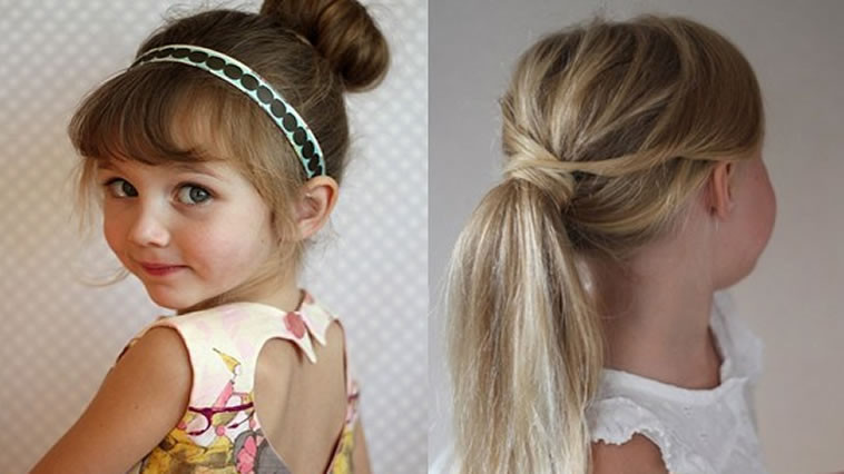 Two Little Girls Hairstyles  Hairstyles for Little Girls for 2017