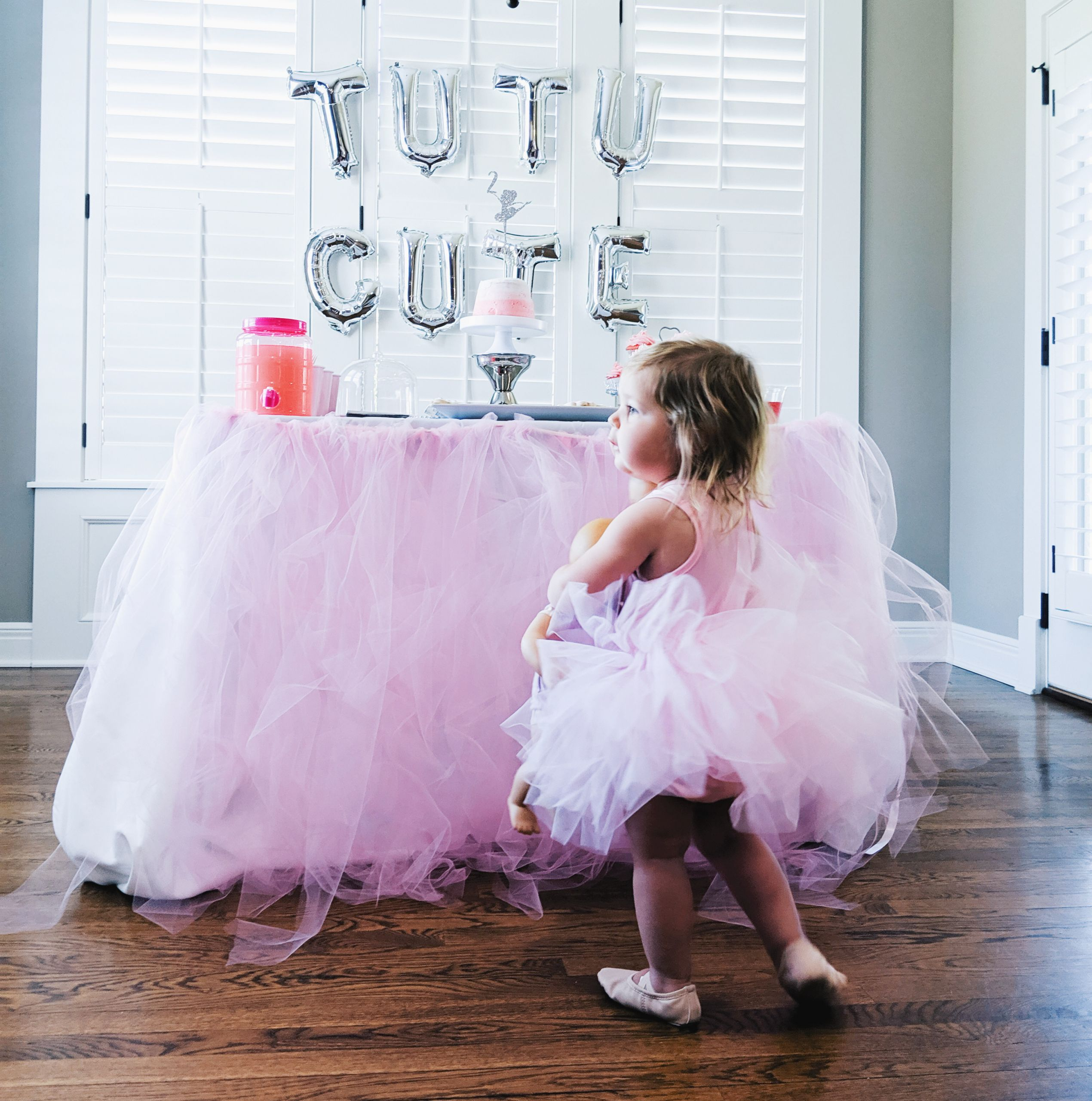 Two Years Old Birthday Party Ideas  Tutu Cute Birthday Party 2nd Birthday Party Ideas