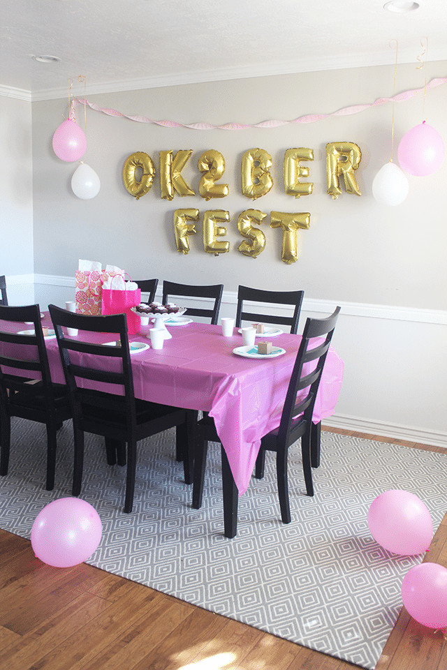 """Two Years Old Birthday Party Ideas  """"Ok 2 berfest"""" 2nd Birthday Party So Festive"""