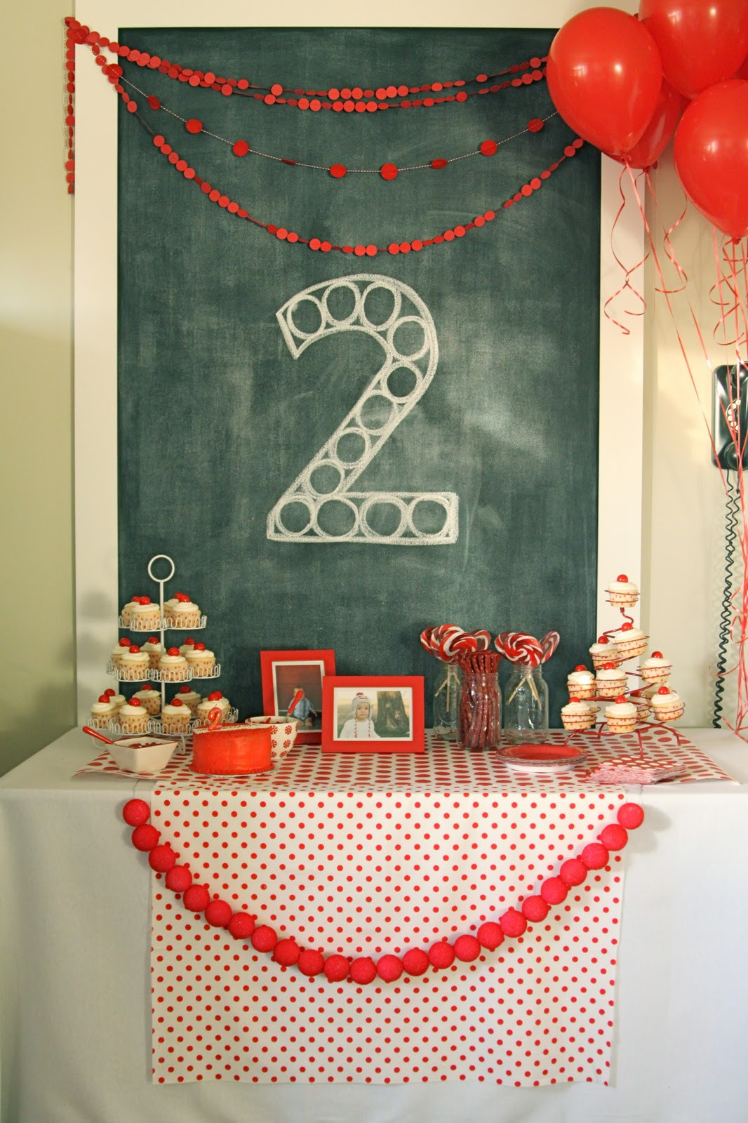 Two Years Old Birthday Party Ideas  red ball party levi's second birthday The Macs