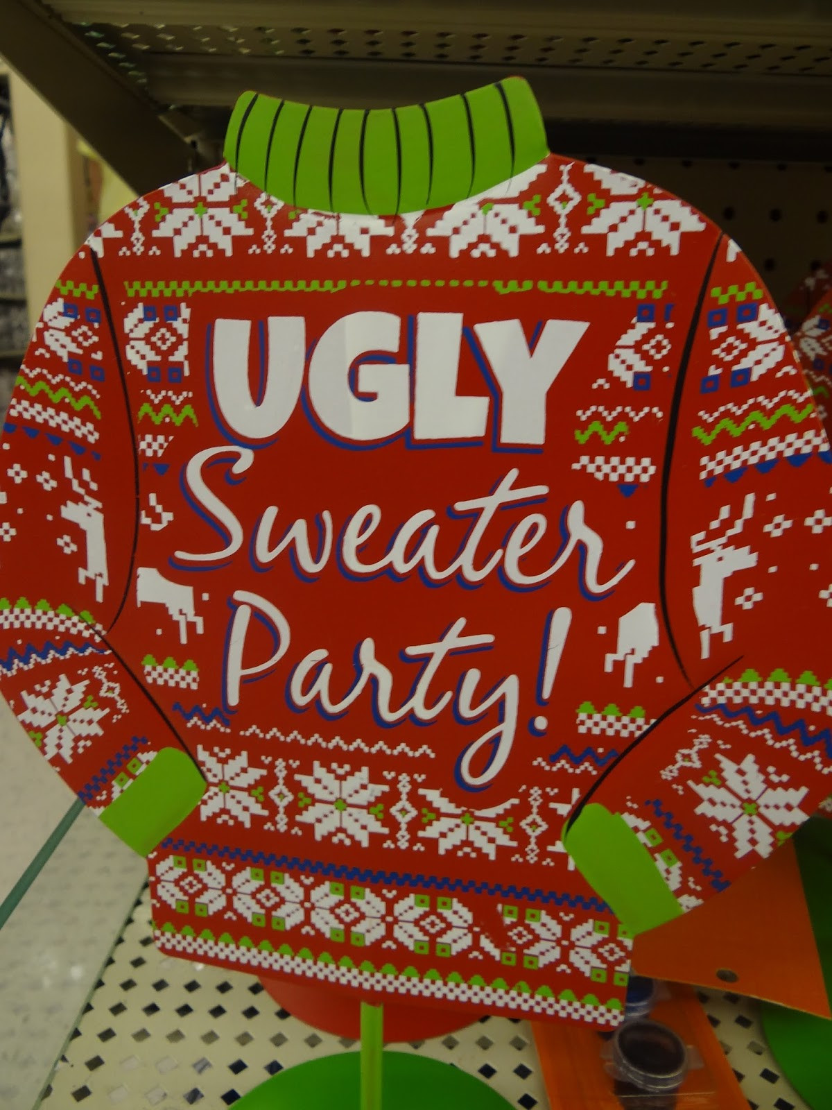 Ugly Christmas Sweater Party Decoration Ideas  Patties Primary Place Funny Story and Ugly Sweater Parties