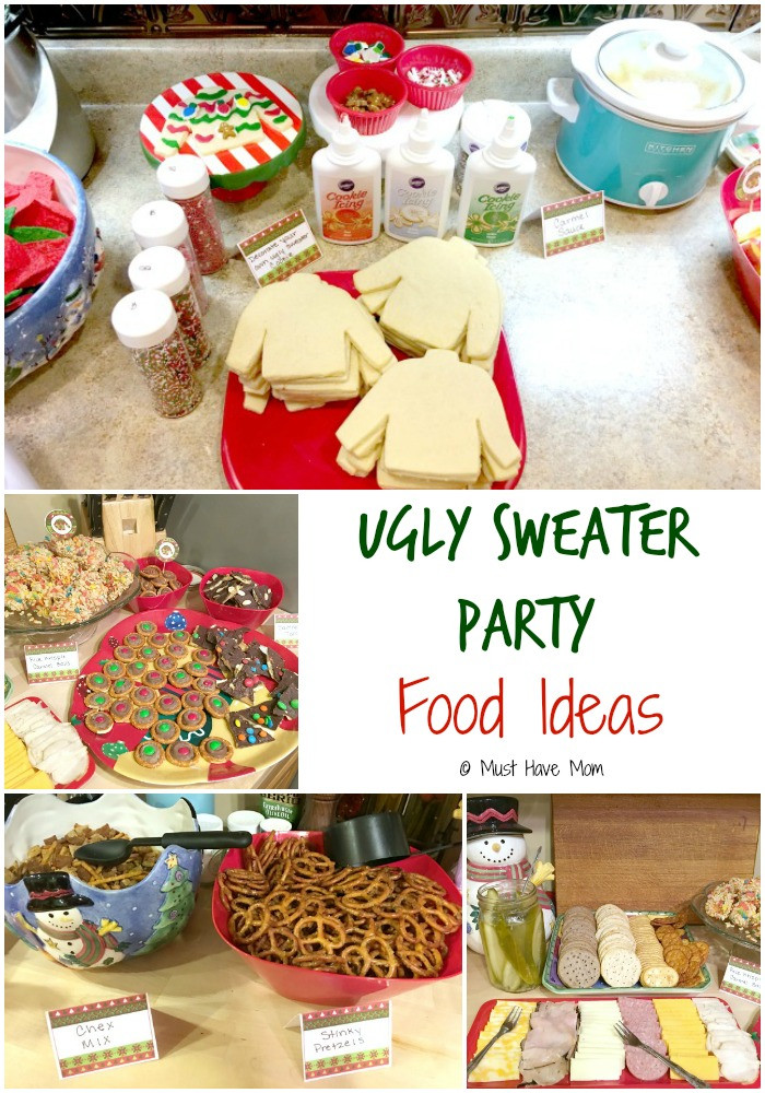 Ugly Christmas Sweater Party Decoration Ideas  How To Host An Ugly Christmas Sweater Party Must Have Mom