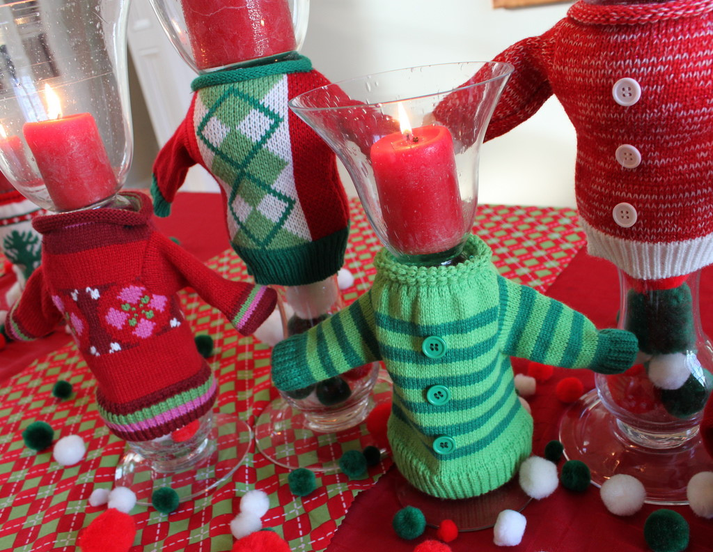 Ugly Christmas Sweater Party Decoration Ideas  Ugly Christmas Sweater Party Ideas Oh My Creative