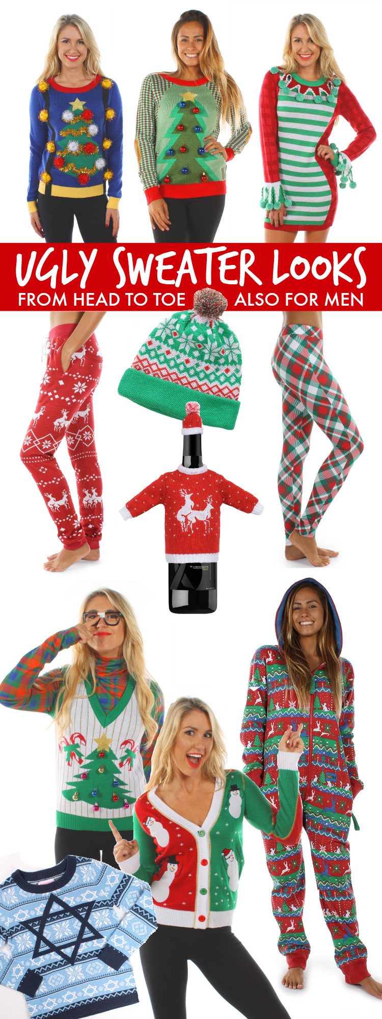 Ugly Christmas Sweater Party Decoration Ideas  Ugly Christmas Sweater Party Looks Oh My Creative
