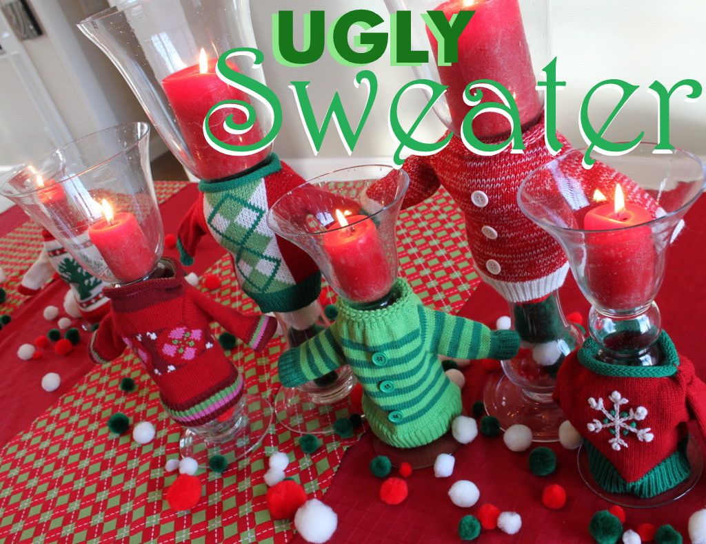 Ugly Christmas Sweater Party Decoration Ideas  Entertain Exchange Ugly Christmas Sweater Party Ideas