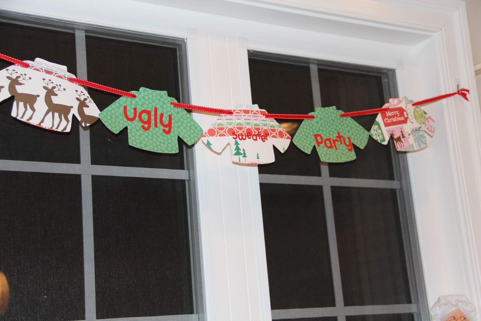 Ugly Christmas Sweater Party Decoration Ideas  sunny little things ugly sweater party