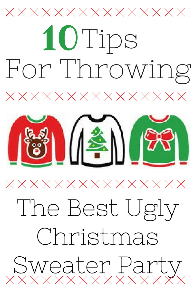 Ugly Christmas Sweater Party Decoration Ideas  Ugly Christmas Sweater Party Ideas