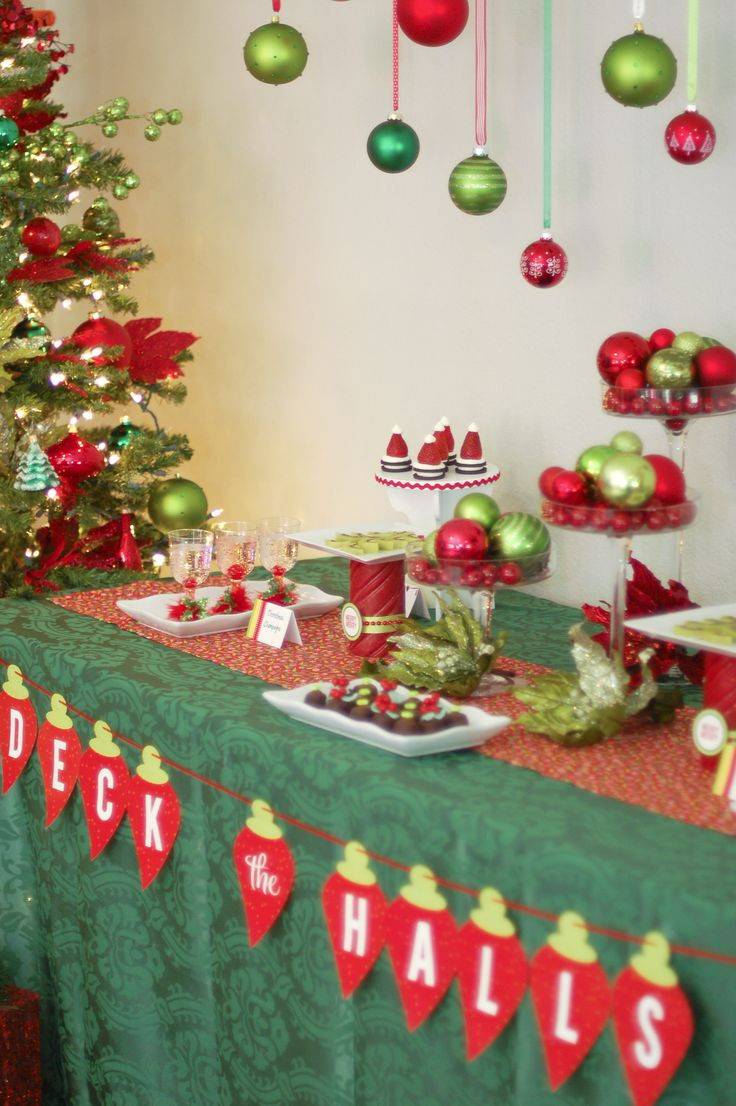 Ugly Christmas Sweater Party Decoration Ideas  Ugly Christmas Sweater Party Ideas by Funky Christmas Sweaters