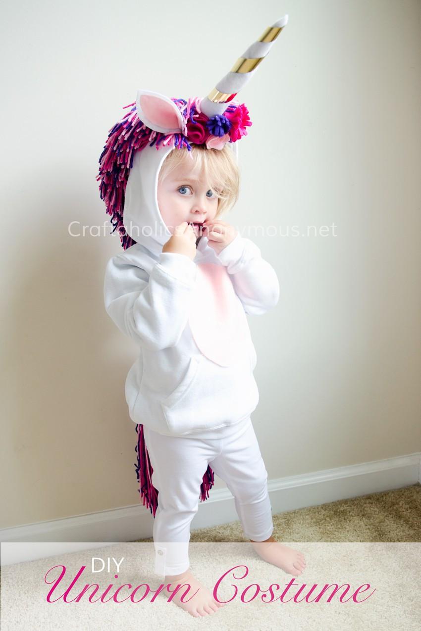 Unicorn Costume Child Diy  Craftaholics Anonymous