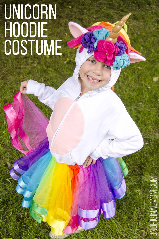 Unicorn Costume Child Diy  DIY Little Mermaid and Flounder Costumes unOriginal Mom