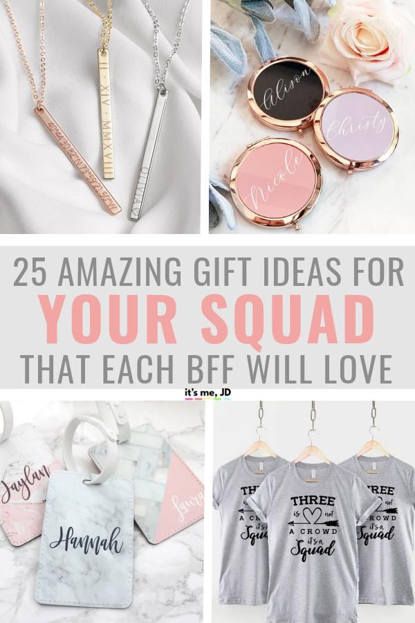 Unique Gift Ideas For Best Friend  25 Best Friend Gift Ideas