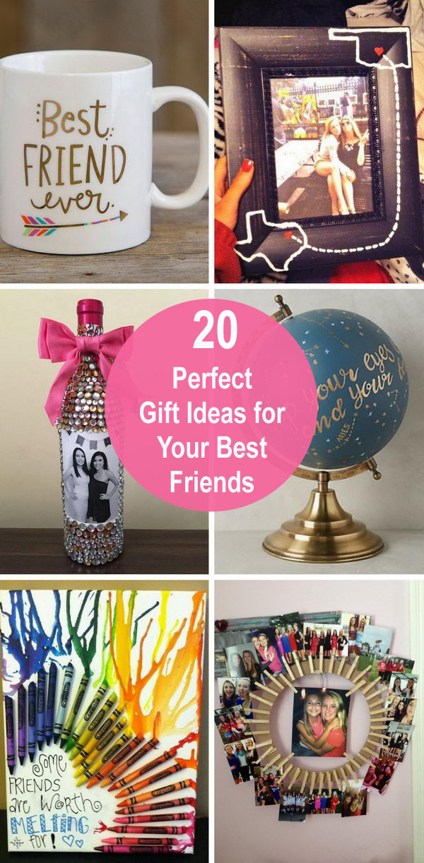 Unique Gift Ideas For Best Friend  Perfect Gift Ideas for Your Best Friends