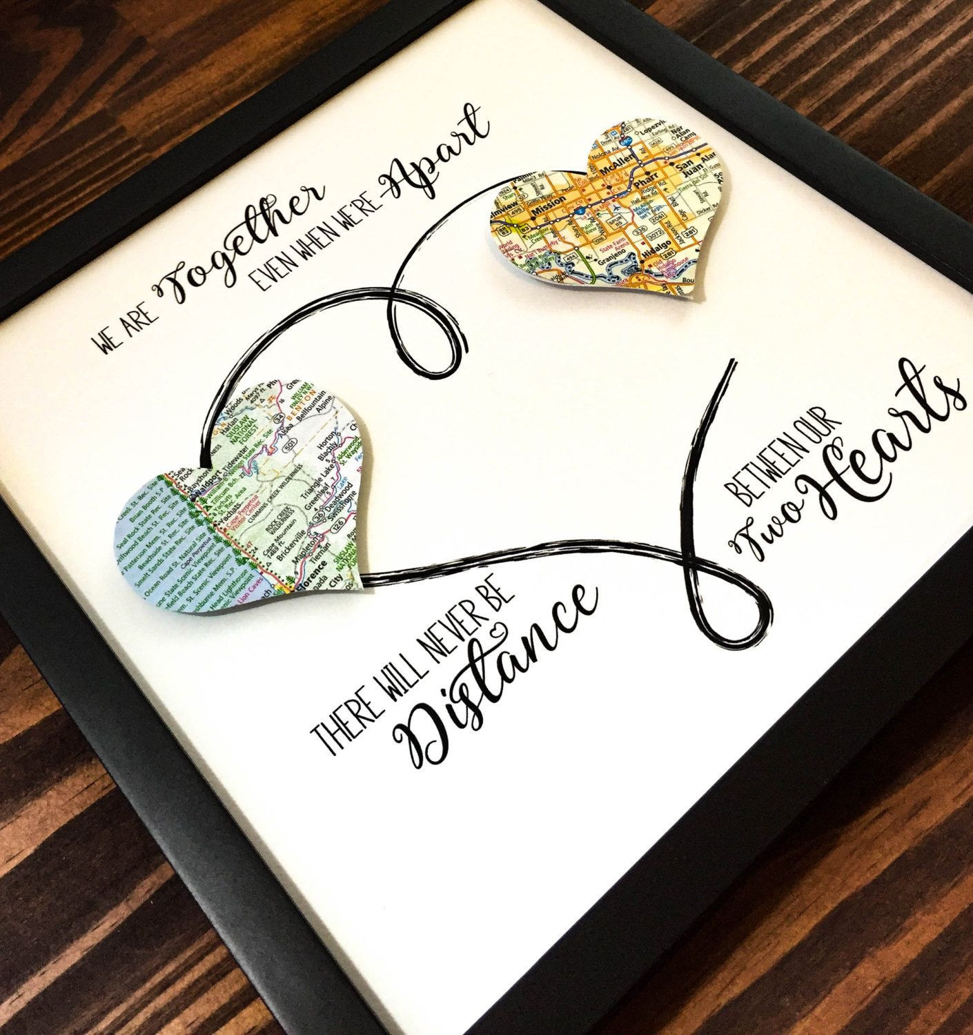 Unique Gift Ideas For Best Friend  Personalized Best Friend Gift Going Away Gift Long