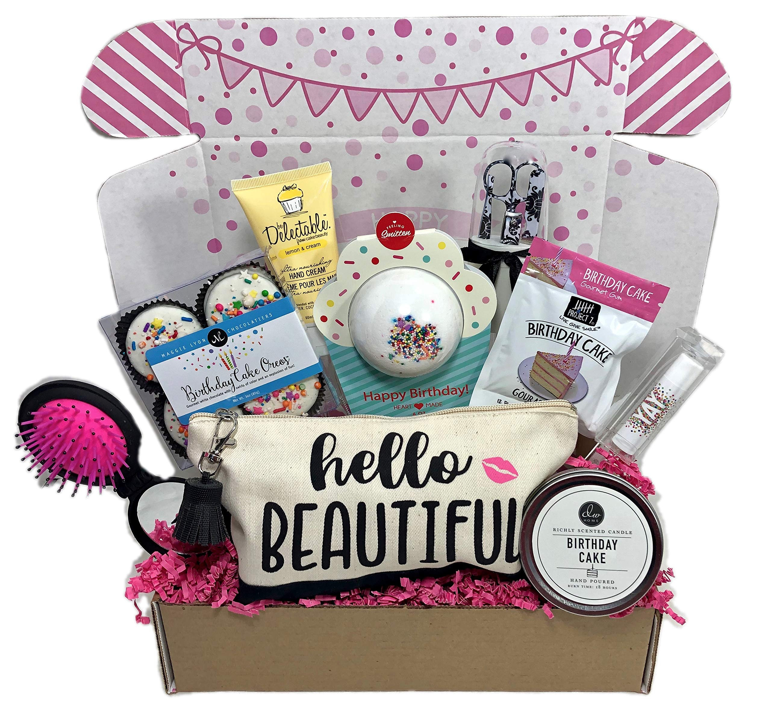 Unique Gift Ideas For Best Friend  Amazon Birthday Gift Basket Box for Women