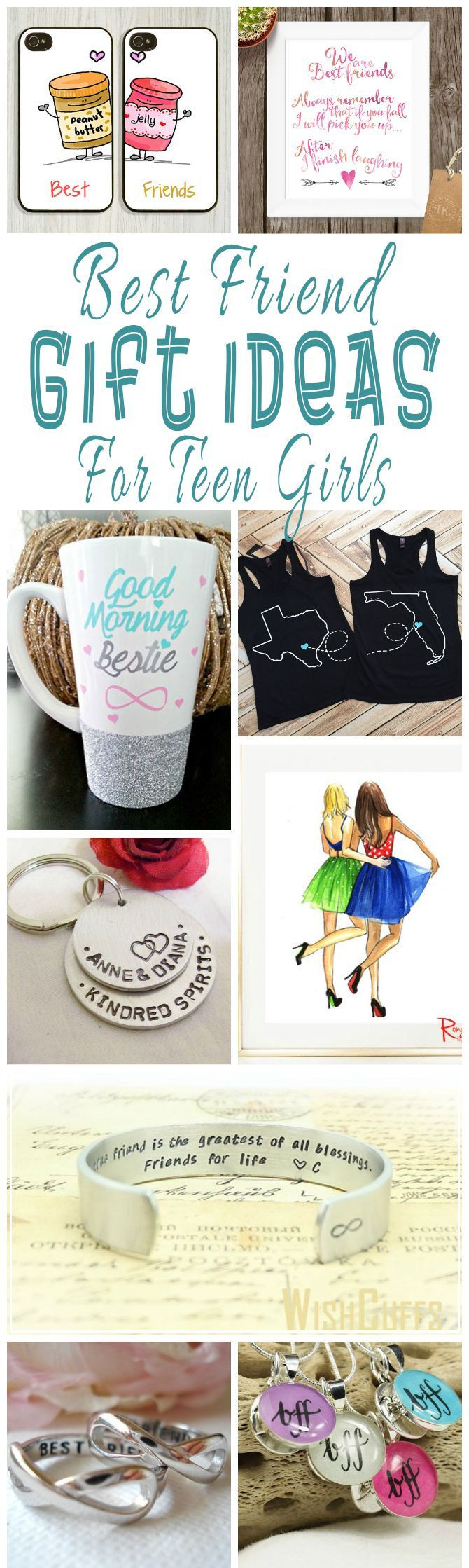 Unique Gift Ideas For Best Friend  Best Friend Gift Ideas For Teens