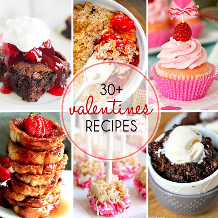 Valentine Day Recipes Dessert  30 Valentine s Day Dessert Recipes