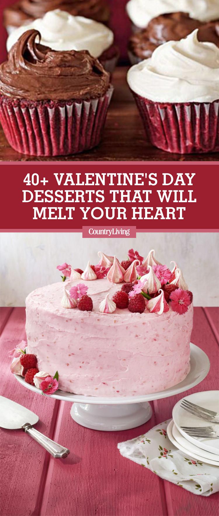 Valentine Day Recipes Dessert  42 Easy Valentine's Day Desserts Best Recipes for