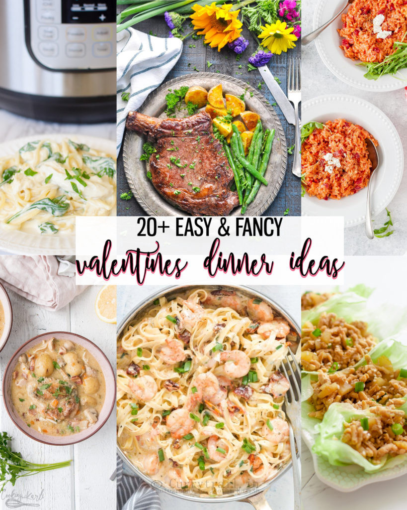 Valentine Dinner Recipes  20 Easy & Fancy Valentines Dinner Ideas Cooking With Karli