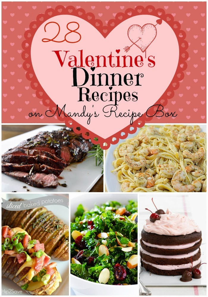 Valentine Dinner Recipes  Valentines Dinner Menu