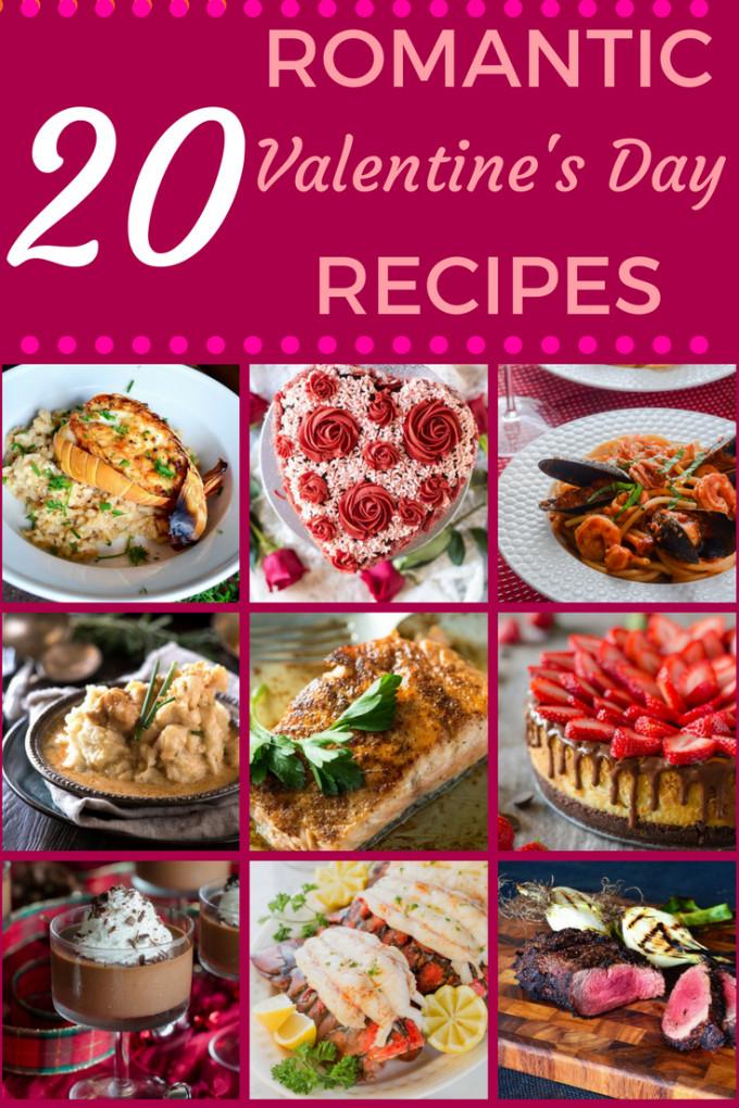 Valentine Dinner Recipes  20 Romantic Valentine s Day Recipes Go Go Go Gourmet